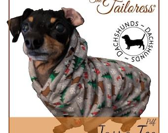 All Sizes - DACHSHUNDS Jasra Dog PDF Sewing Pattern|Sewing Patterns for Dog|Dog Tee Sewing Patterns|Sewing Pattern|Pdf Pattern