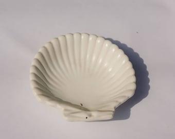 Sea Shell Dish! Retro! Vintage Decor!
