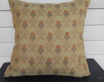 Handsome Brocade Down Feather Pillow!