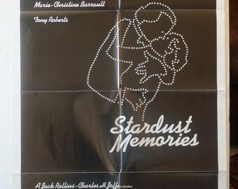 """Stardust Memories   Movie Poster       """"Stardust Memories"""" -   1980 Original   -  Woody Allen"""