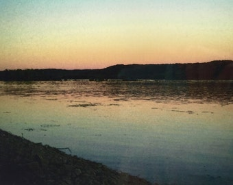 A Mississippi Sunset by SusanARay of OneHealingStone Studio