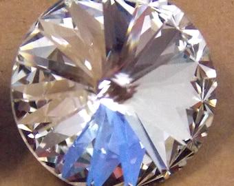 Swarovski Crystal AB, Rivoli, 14mm