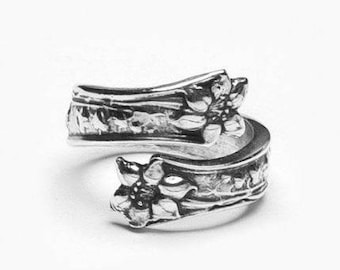 """Spoon Ring: """"Lila"""" by Silver Spoon Jewelry"""