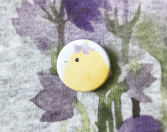 Little chick badge Chick tukoni ckick badge ChickPin Chick Button Chick Badge Animal pin Animal badge animal pin Pin Button Badge