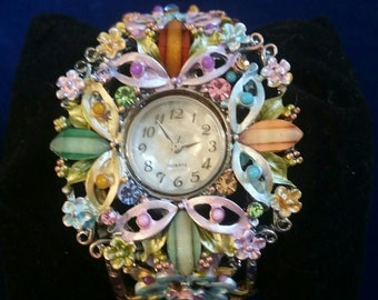 Steampunk Jewelry Watch