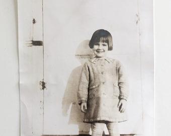 Original Vintage Photograph | Little Lady | 1936