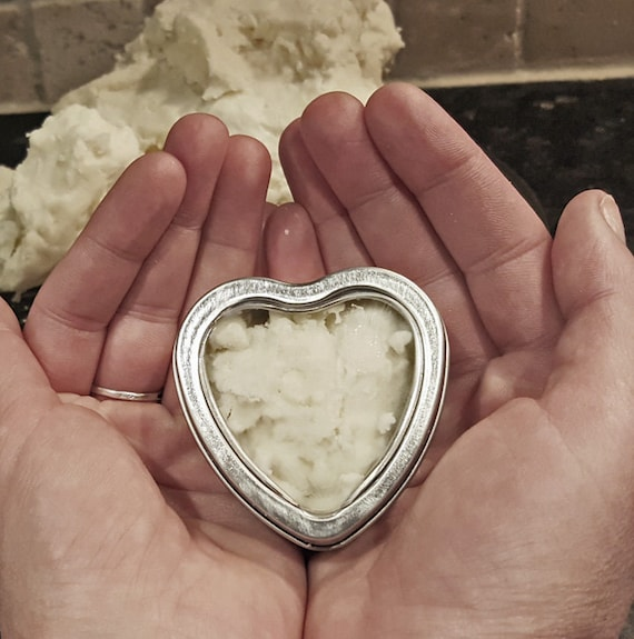 Healing RAW Shea Butter. Unscented. Uncolored. Pure.