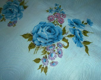True Vintage Cotton Fabric - Embossed - Sold by the Half Yard