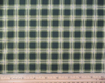 Green Plaid, by Robert Kaufman  G-1-36