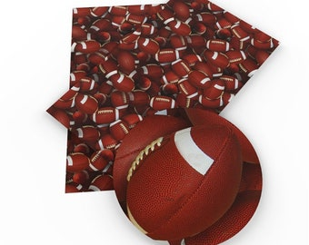 Football Faux Leather Sheet