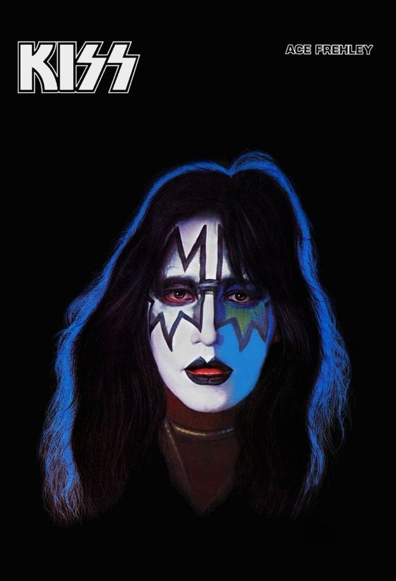 kiss band collectibles kiss ace frehley solo album counter. Black Bedroom Furniture Sets. Home Design Ideas