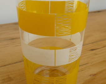 Vintage French Tumbler Drinking Glass