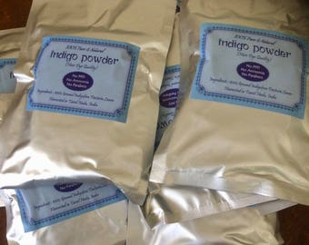100g Henna/ Indigo Powder For Natural Hair Dye 100% PURE