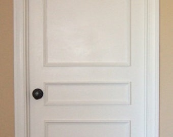Awesome Removable Three Piece Applied Door Moulding Kit ~ Get The Custom, High End  Look