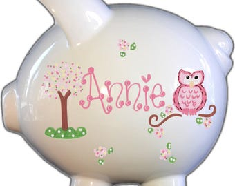 Custom Piggy Bank - Personalized