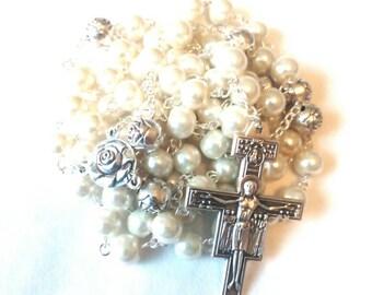 Handmade Franciscan Crown Rosary