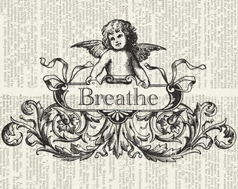 breathe dictionary page print