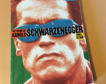 The Films of Arnold Schwarzenegger Paperback Book Movie Book