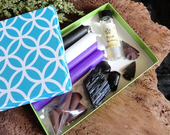 Protection Spell Kit ~ Wicca Protection Spell ~ Witchcraft Supplies ~ Wicca Starter Kit ~ Occult Pagan Wicca Supplies ~ Protection Ritual