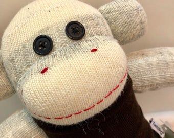 Rodney the Camo Loving Sock Monkey