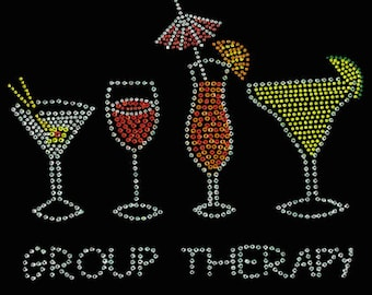 Group Therapy Rhinestone T-Shirt