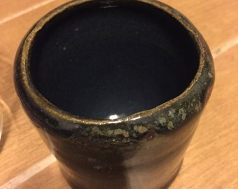 Black and blue multi cup