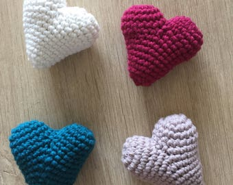 The crochet heart