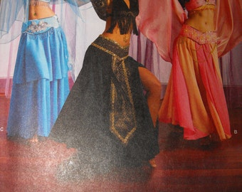 Womens Handmade Belly Dancer Costume