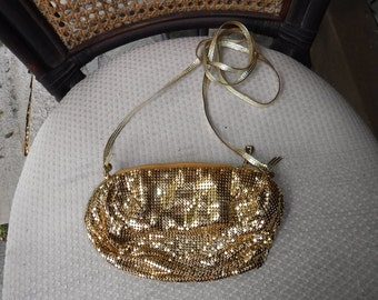Gold Mesh evening bag Whiting and Davis Co.