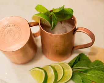 Copper Mug by American Mule. 100% Superior Quality Handmade in The Copper State, USA (PRE-ORDER)