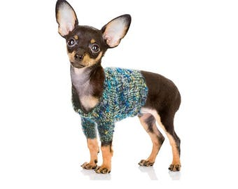 Dog Sweater for Small Size Dog Breed, Knitting Pattern