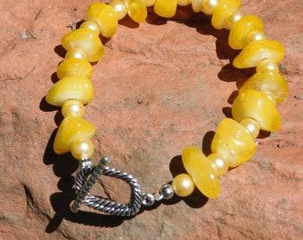 Yellow Citrine Bracelet