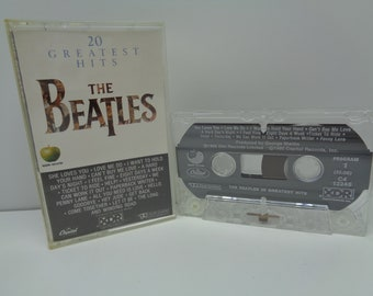 The Beatles 20 Greatest Hits Cassette
