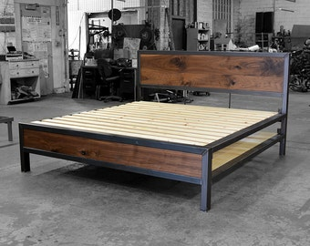 Early Century Bed with Storage
