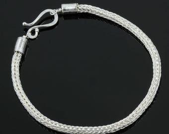 Handmade Two-Way Double Loop in Loop Bracelet
