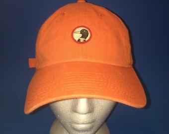Vintage Duck Head Strapback Hat Adjustable 1990s