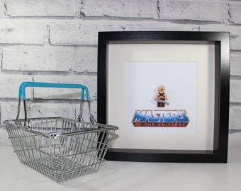 HE-MAN - Masters of the Universe - He Man - Framed minifigure - Classic - 80s - Art
