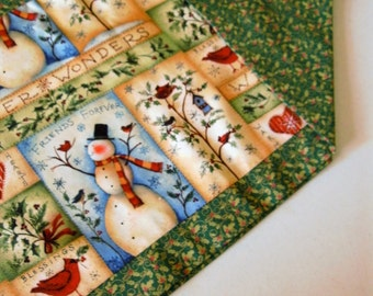 Reversible Christmas Table Runner