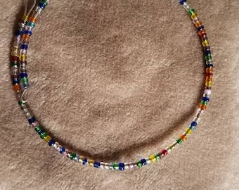 Multi Color Memory Wire Bracelet