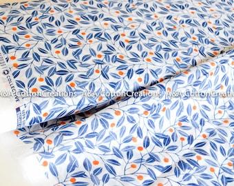ALENA Organic Batiste, Organic Fabric, Apparel fabric, Floral fabric, Cloud9 Organics, light fabric, apparel fabric, summer fabric