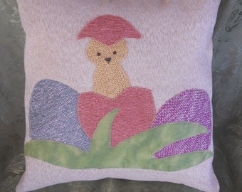 Easter pillow covers:  cute 'lil chicks