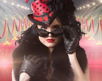 Deluxe Ladybug Riding Hat - Size REG