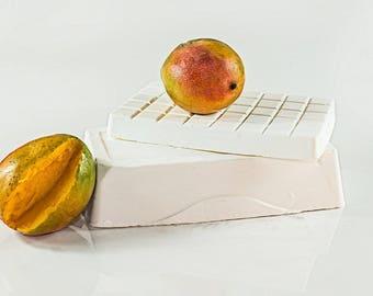 Mango soap base and pour