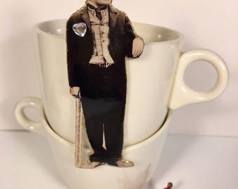 Charlie Chaplin Pin  The Little Tramp Silent Movie Star Pop Culture Kitsch