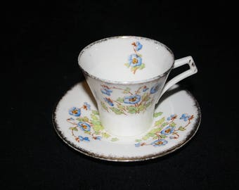 Tea Cup and Saucer From 1930s