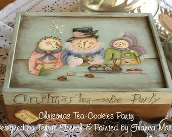 Christmas Tea Party  PWF available in Italian or English