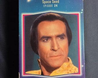 Star Trek épisode 24 espace rocaille VHS TV série 1993 libération Sci Fi