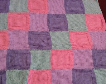 Building Block Baby Blanket