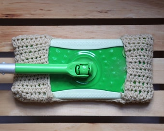 Resusable washable mop pad