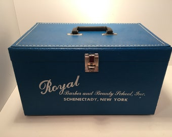 Vintage beauty school case from Schenectady NY